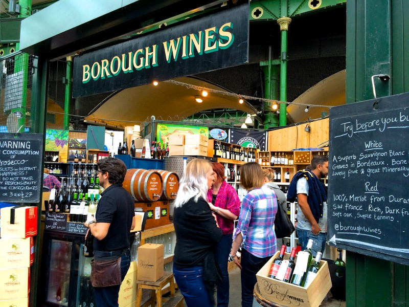 Borough Market Wines