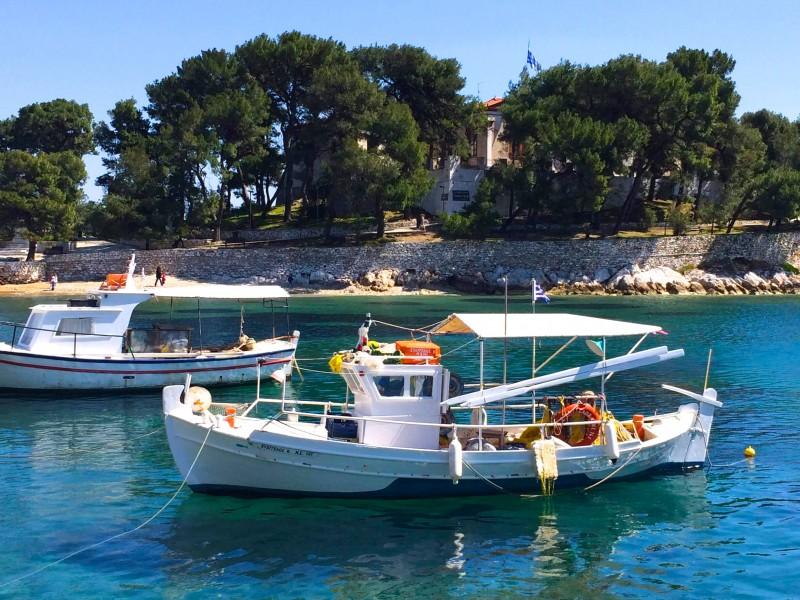 Skiathos Old Harbour