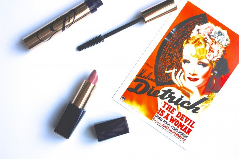 New products: a volumizing mascara and a nude lipstick by Estee Lauder