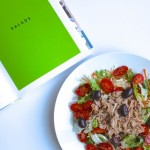 The easiest and filling salad with tuna