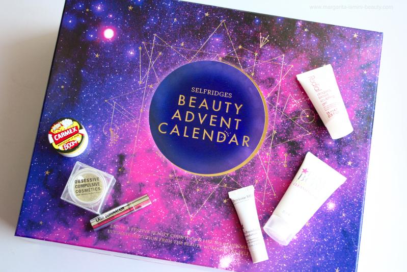 The first six days of the Selfridges Beauty Workshop Advent Calendar
