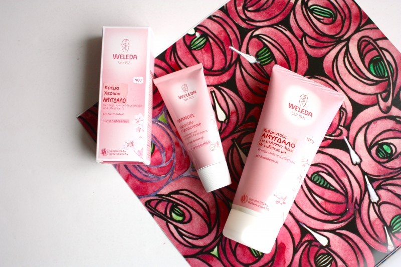 Treat sensitive skin with the new Weleda Almond Sensitive Skin Body Wash and Hand Cream