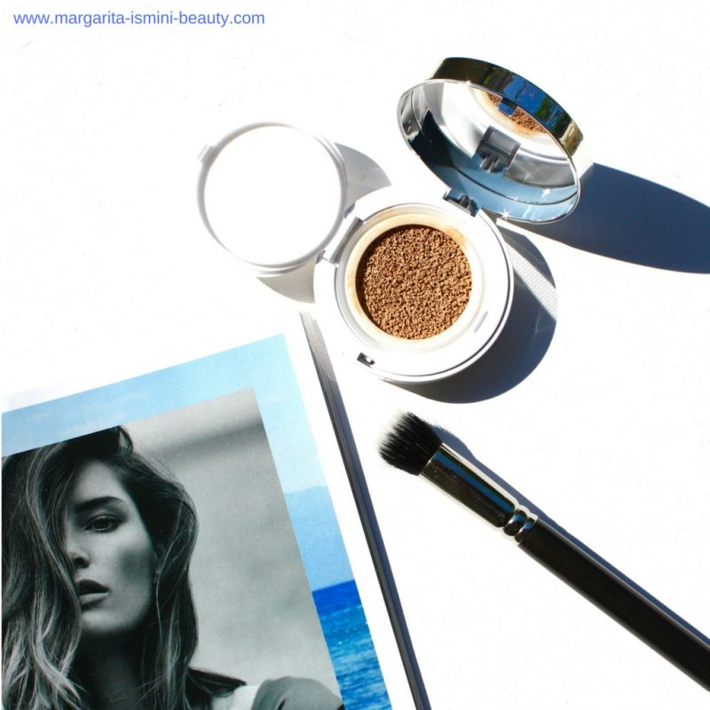 The Lancôme Miracle Cushion Foundation makes skin look beautiful