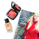 Chanel Sunkiss Ribbon Powder Blush and Les Beiges Healthy Glow Foundation
