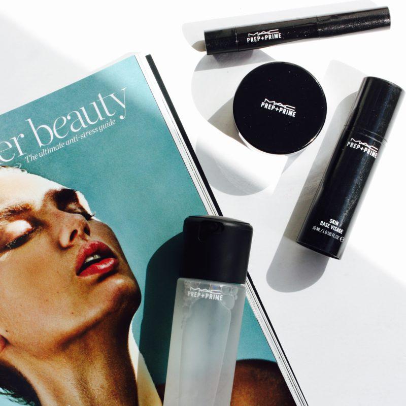 Flawless makeup with MAC Prep+Prime