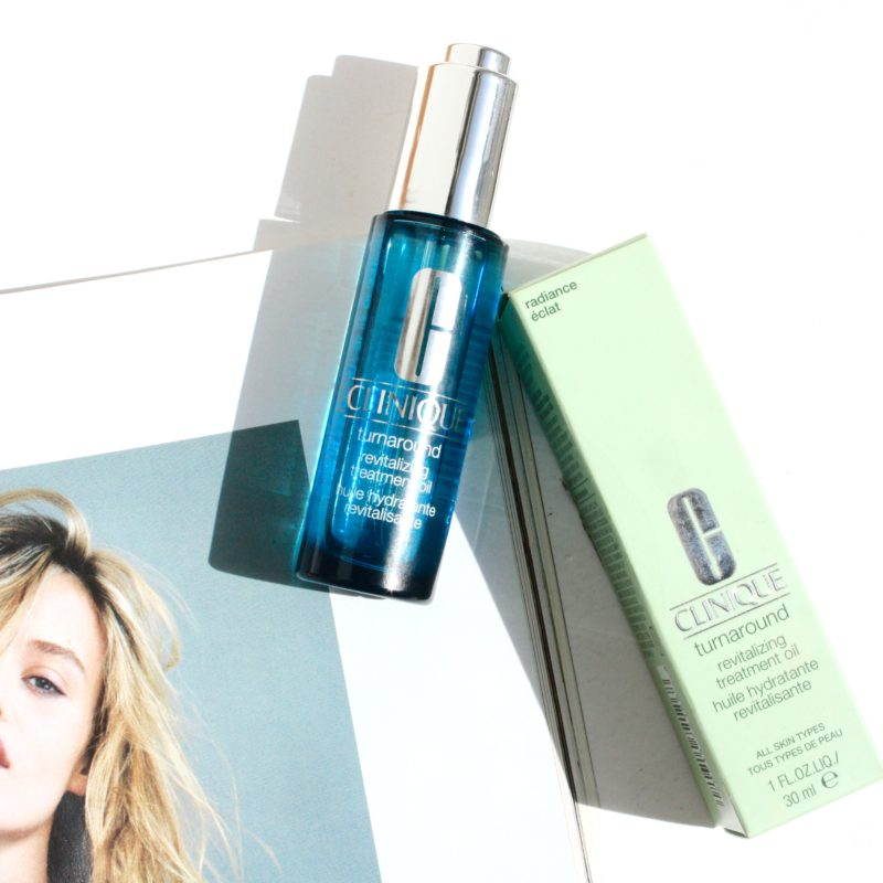 Face Oils: Clinique Turnaround Revitalizing Treatment Oil