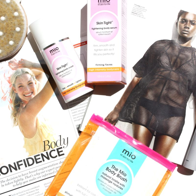 Getting my body ready for summer with Mio skincare