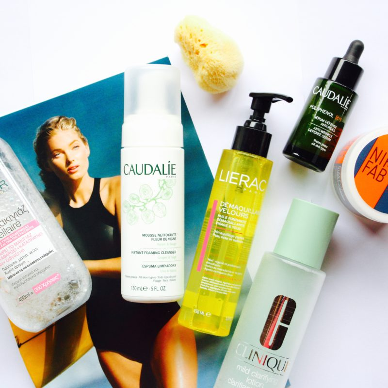 My evening skincare routine – Summer edition