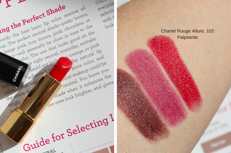 Too much lipstick